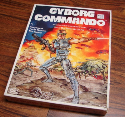 Cyborg Commando boxed set